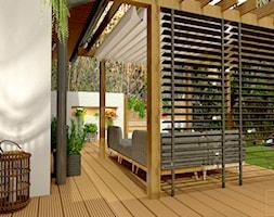 Przydomowe patio - Taras - zdjęcie od Pracownia Projektowa WnętrzaBBM - Homebook