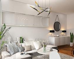 Salon z aneksem kuchennym - Salon, styl nowoczesny - zdjęcie od KZPA - Homebook