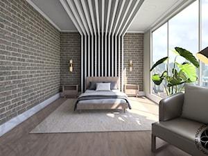 Sypialnia w apartamencie hotelowym