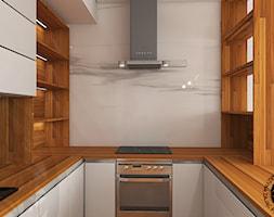 Salon z aneksem kuchennym - Kuchnia, styl nowoczesny - zdjęcie od KZPA - Homebook