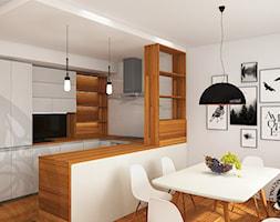 widok na jadalnię i aneks kuchenny - zdjęcie od KZPA - Homebook
