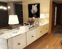 Aranżacja salonu z jadalnią - Salon, styl nowoczesny - zdjęcie od KZPA - Homebook
