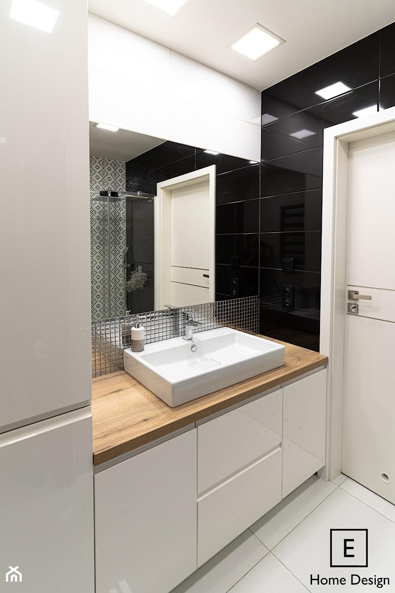 Mieszkanie w stylu glamour w Kaliszu - Łazienka, styl glamour - zdjęcie od E Home Design