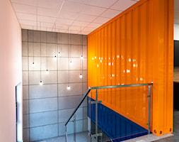 Projekt biura firmy transportowej - Schody, styl industrialny - zdjęcie od E Home Design - Homebook