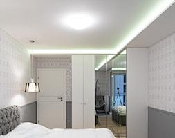 Mieszkanie w stylu glamour w Kaliszu - Sypialnia, styl glamour - zdjęcie od E Home Design - Homebook