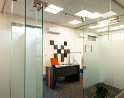 Projekt biura firmy transportowej - Wnętrza publiczne, styl nowoczesny - zdjęcie od E Home Design - Homebook