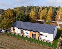 Dom nad zalewem Murowaniec - 130 m2 - Domy, styl nowoczesny - zdjęcie od E Home Design - Homebook