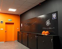 Projekt biura firmy transportowej - Wnętrza publiczne, styl industrialny - zdjęcie od E Home Design - Homebook
