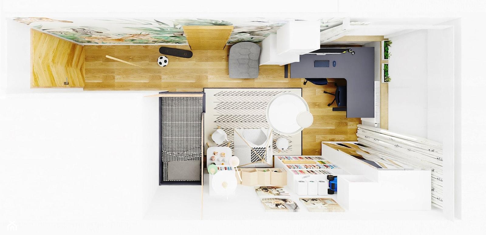 rzut pokoju - zdjęcie od KC Interior-Plan Studio Projektowe Toruń - Homebook