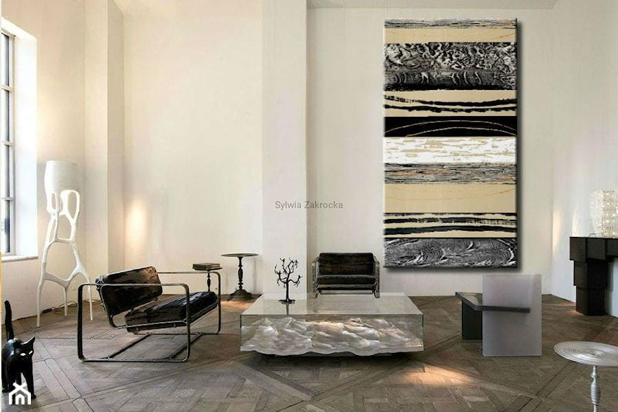 Salon, styl nowoczesny - zdjęcie od art&texture