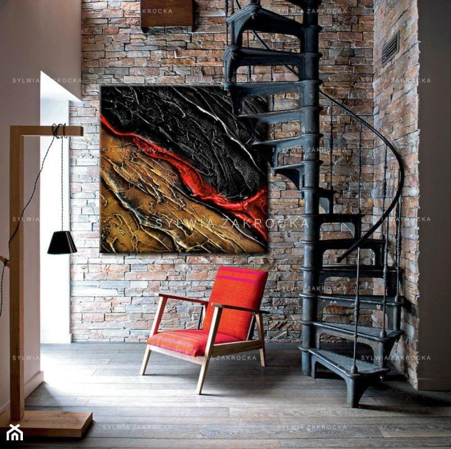 Hol / przedpokój, styl industrialny - zdjęcie od art&texture