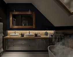 Dom rustykalny | Mosty - Salon, styl rustykalny - zdjęcie od Hania Duszyńska - Homebook