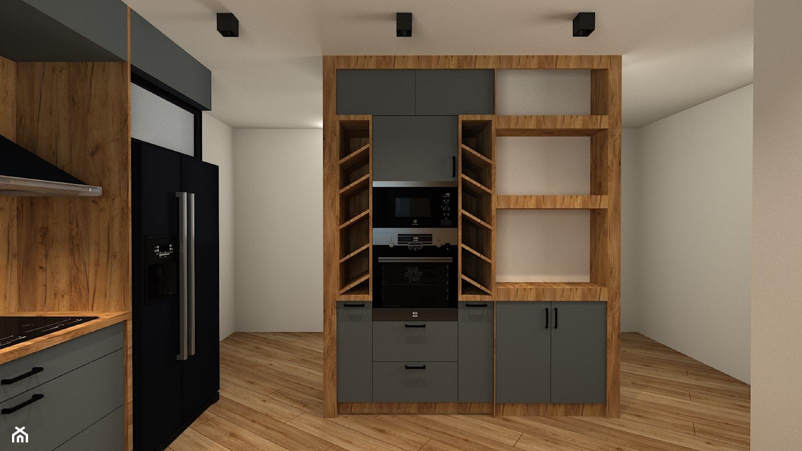 Kuchnia 20m2 - Kuchnia, styl nowoczesny - zdjęcie od Wnętrza z pasją - Homebook