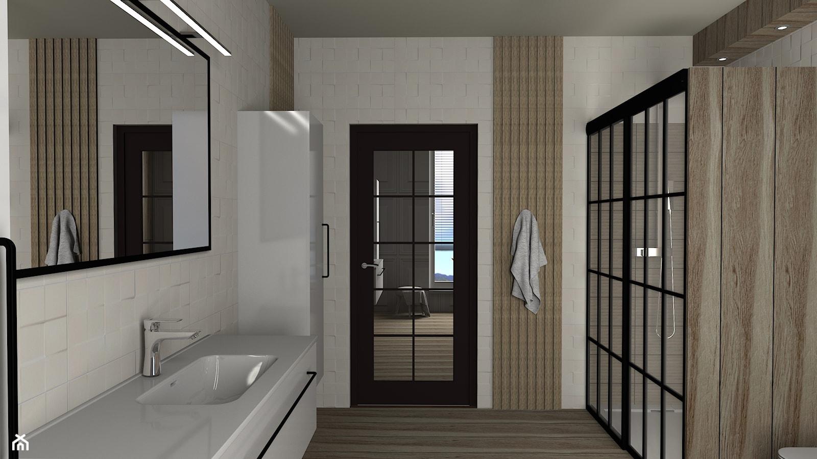 Łazienka 8m2 - Łazienka, styl nowoczesny - zdjęcie od Wnętrza z pasją - Homebook