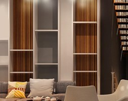 Stylowe lampy do salonu - Salon, styl skandynawski - zdjęcie od Sklep ePlafoniera - Homebook