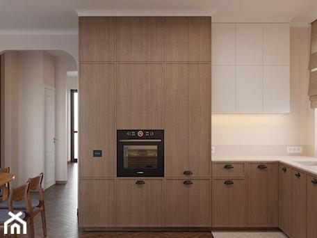 Aranżacje wnętrz - Kuchnia: Miączyńska, 150m - Średnia otwarta biała kuchnia w kształcie litery l z oknem, styl vintage - DZIURDZIAprojekt. Przeglądaj, dodawaj i zapisuj najlepsze zdjęcia, pomysły i inspiracje designerskie. W bazie mamy już prawie milion fotografii!