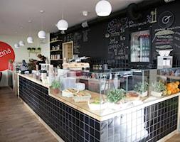Kawiarnia Cofeina, Metro Politechnika,Wwa - Wnętrza publiczne, styl vintage - zdjęcie od DZIURDZIAprojekt