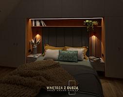 Sypialnia muśnięta szałwią - zdjęcie od Wnętrza z Duszą - Anna Dalke Nowak - Homebook