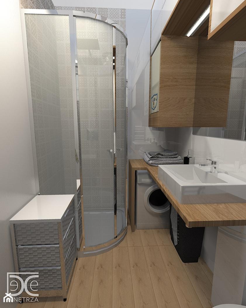 Nowoczesne wnętrze łazienki w stylu skandynawskim - zdjęcie od DeCe Wnętrza - Dominika Ciuberek - Homebook