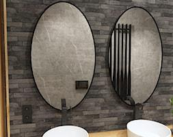 Łazienka, styl industrialny - zdjęcie od Led-lustra.pl - Homebook