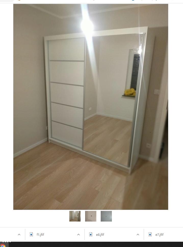Szafa z lustrem IKEA - MebleSzafa.pl - zdjęcie od M Fortuna - Homebook