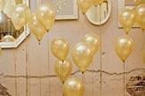 złote balony na sylwestra
