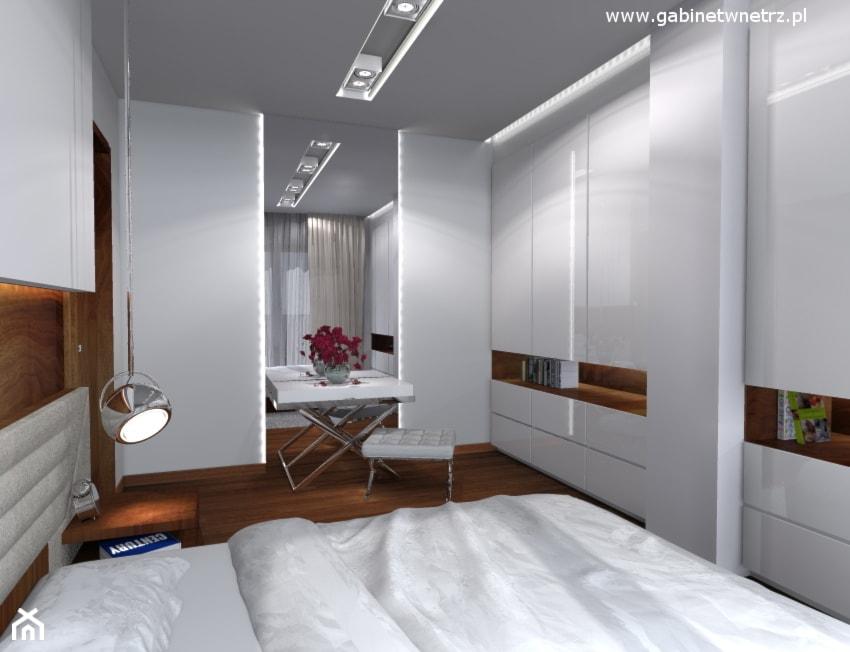 Apartament Tarchomin Sypialnia Styl Nowoczesny Zdjęcie