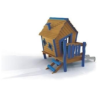 Drewniany domek do ogrodu dla dzieci 1+ Domek Ollego