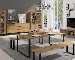 Salon, styl industrialny - zdjęcie od mks-meble.pl - Homebook