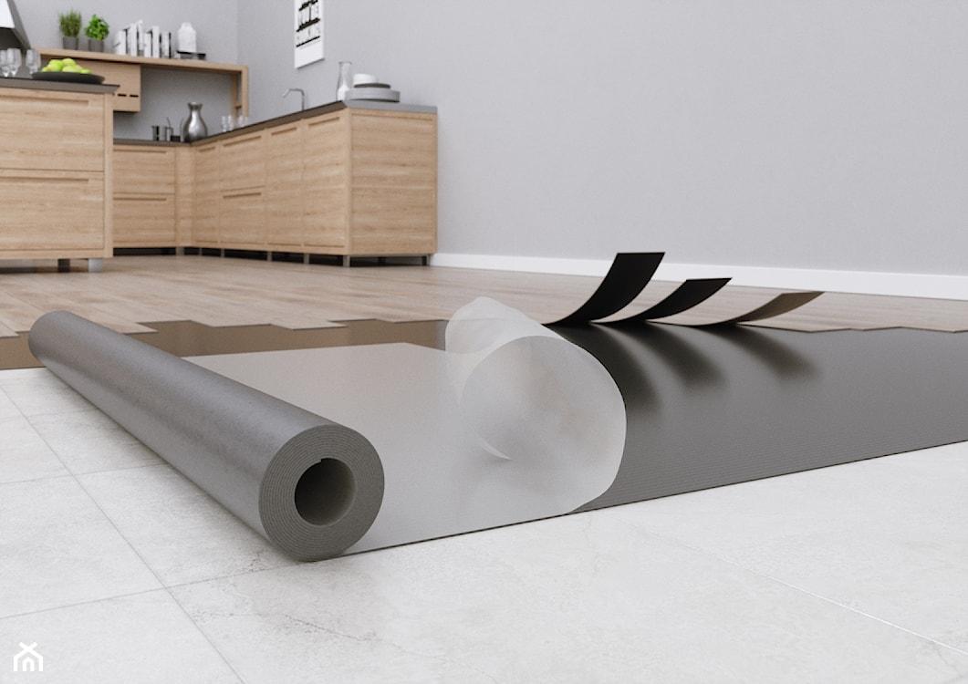 podkład montażowy pod podłogę, panele winylowe, podłoga winylowa, podłoga drewnopodobna