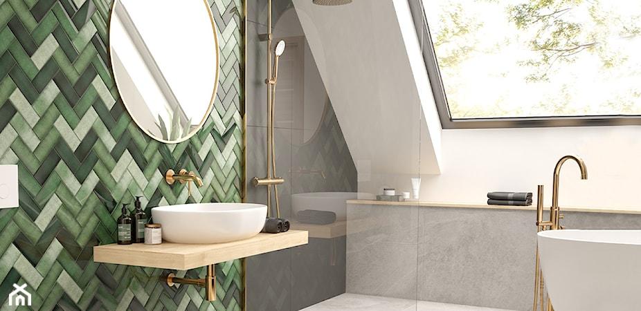 Złota armatura i akcesoria, które odmienią oblicze Twojej łazienki