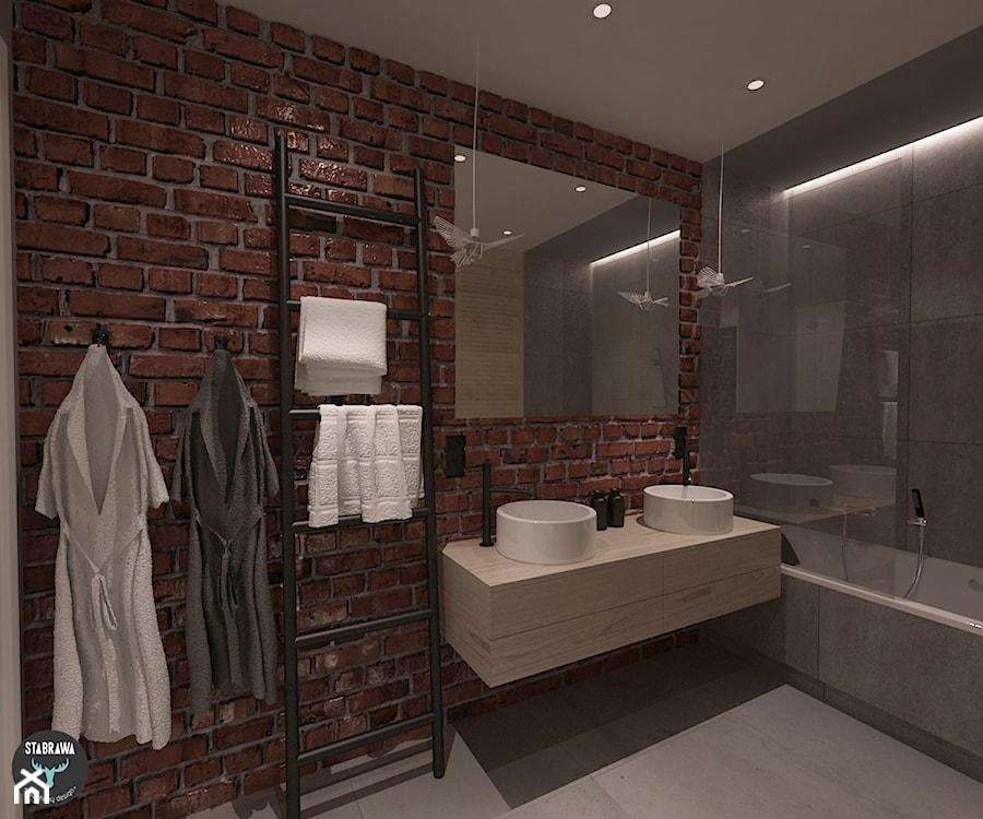 łazienka Mieszkanie W Stylu Loft łazienka Zdjęcie Od Stabrawa