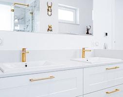 Stylowa łazienka glamour - zdjęcie od Gotowe Mieszkanie - Homebook