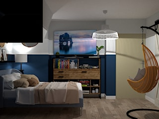 Sypialnia - Styl Hampton