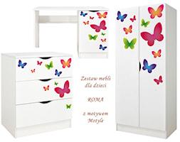 Zestaw mebli Roma do pokoju dziecięcego Motyle - zdjęcie od Leomark - Homebook