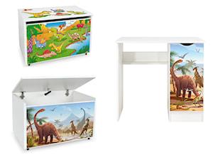 Meble dla dzieci z motywem Dinozaury