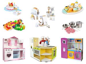 Drewniane kuchnie do zabawy dla dzieci