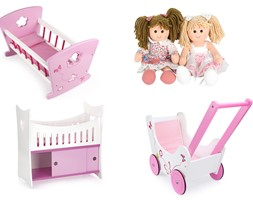 Zabawki do pokoju dziecięcego w kolorze różu - zdjęcie od Leomark - Homebook