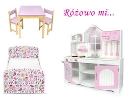 Różowe meble i zabawki dla Twojego dziecka - zdjęcie od Leomark - Homebook