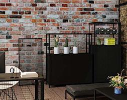 Miejsce pracy w loftowym stylu - zdjęcie od Ameco Home & Living - Homebook