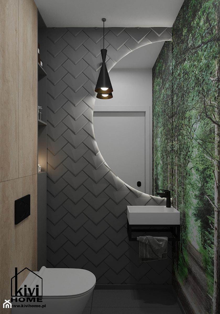 projekt wc - zdjęcie od Kivi Home - projektowanie wnętrz