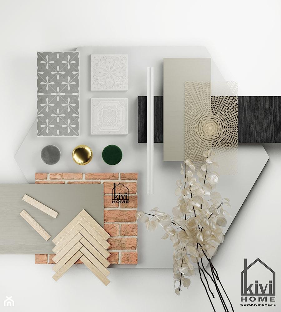 moodboard - zdjęcie od Kivi Home - projektowanie wnętrz