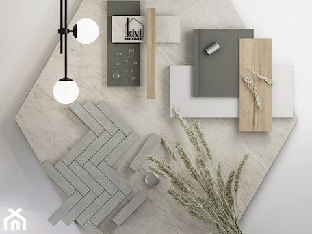 Aranżacje wnętrz - Łazienka: moodboard - projekt łazienki - Kivi Home - projektowanie wnętrz. Przeglądaj, dodawaj i zapisuj najlepsze zdjęcia, pomysły i inspiracje designerskie. W bazie mamy już prawie milion fotografii!