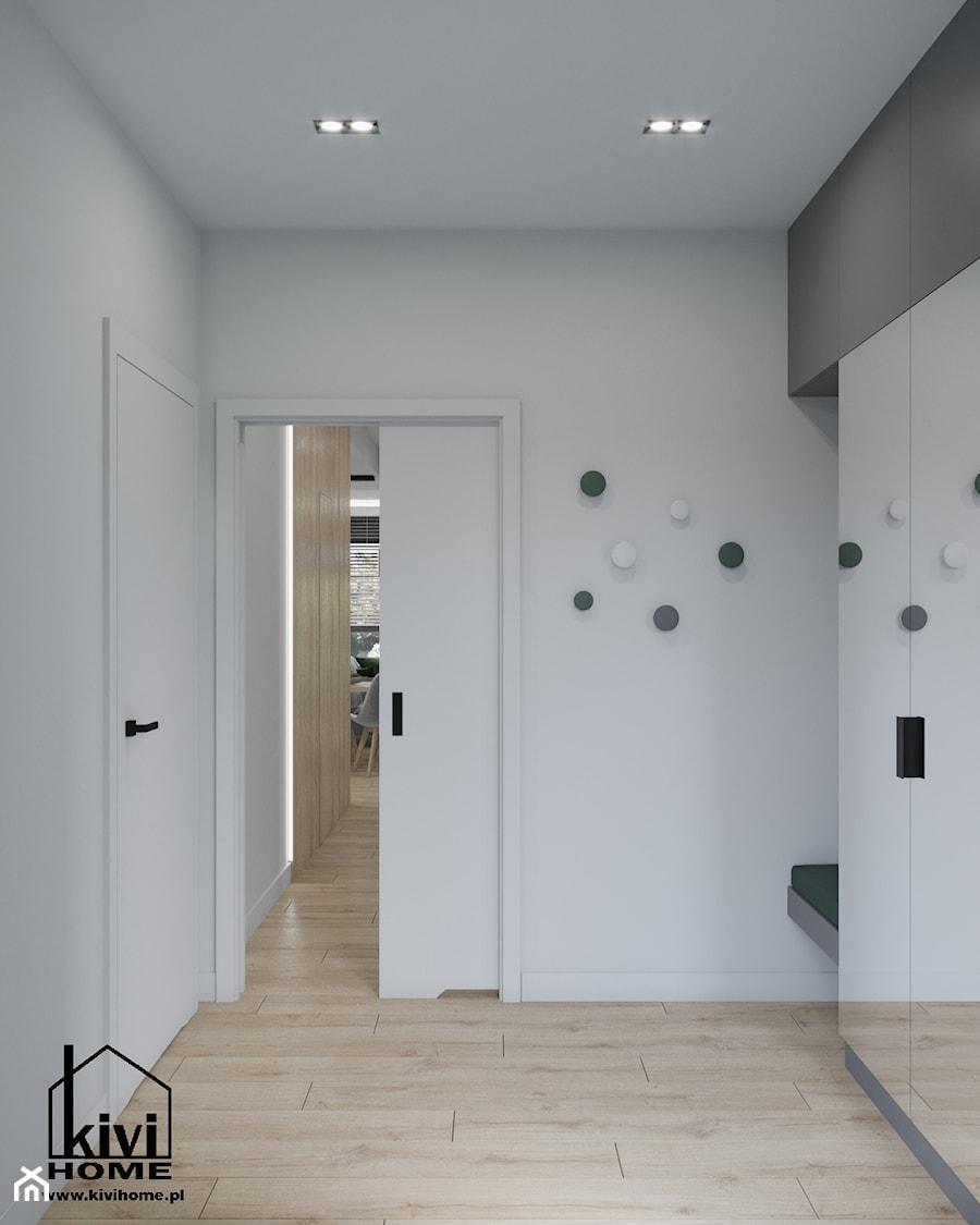 wiatrołap z siedziskiem - zdjęcie od Kivi Home - projektowanie wnętrz