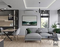 Salon - zdjęcie od Kivi Home - projektowanie wnętrz - Homebook