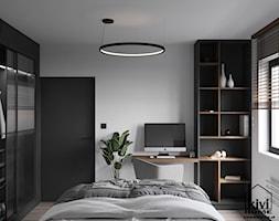projekt sypialni - zdjęcie od Kivi Home - projektowanie wnętrz - Homebook