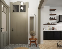 Strefa wejściowa - zdjęcie od Kivi Home - projektowanie wnętrz - Homebook