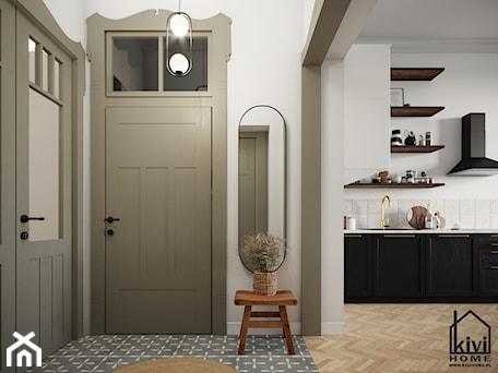 Aranżacje wnętrz - Hol / Przedpokój: Strefa wejściowa - Kivi Home - projektowanie wnętrz. Przeglądaj, dodawaj i zapisuj najlepsze zdjęcia, pomysły i inspiracje designerskie. W bazie mamy już prawie milion fotografii!