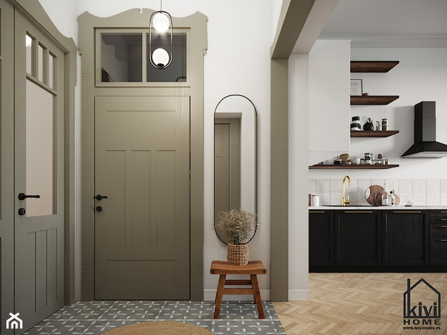 Strefa wejściowa - zdjęcie od Kivi Home - projektowanie wnętrz