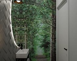proejkt wc - zdjęcie od Kivi Home - projektowanie wnętrz - Homebook